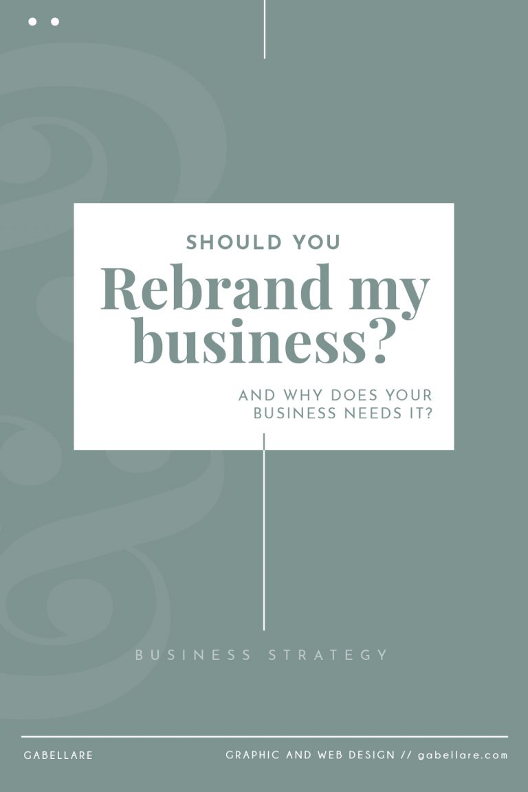 Read more about the article Should you rebrand? And does your business needs it?