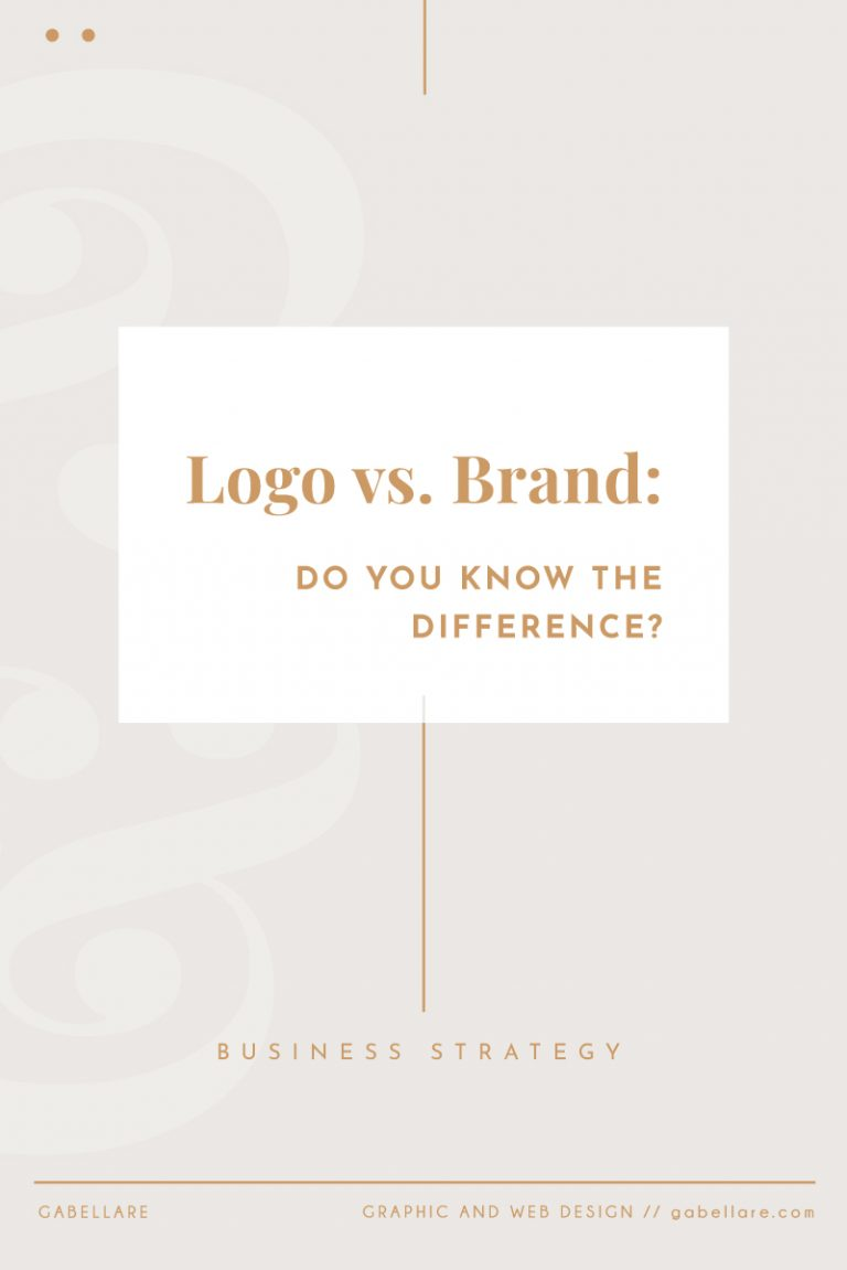 Read more about the article Logo vs. Brand: Do you know the difference?