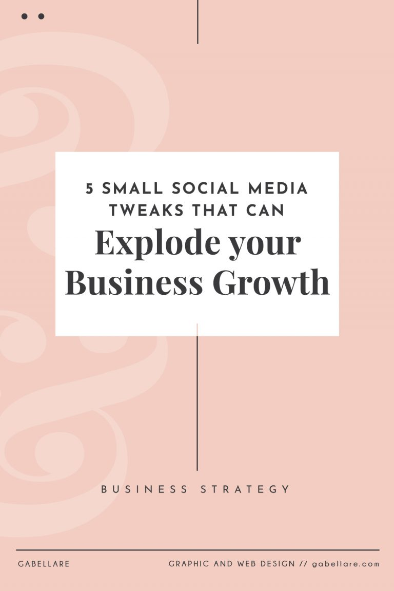 Read more about the article 5 Small Social Media Tweaks that can Explode your Business Growth
