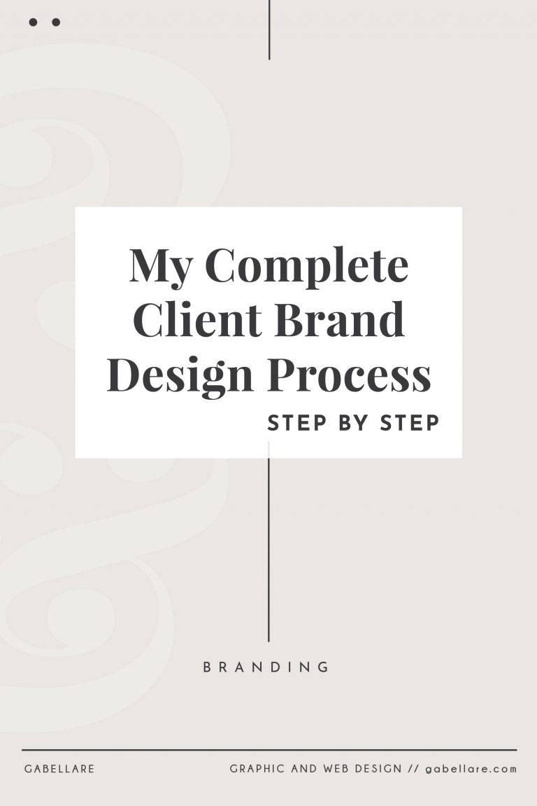 Read more about the article My Complete Client Brand Design Process, step by step