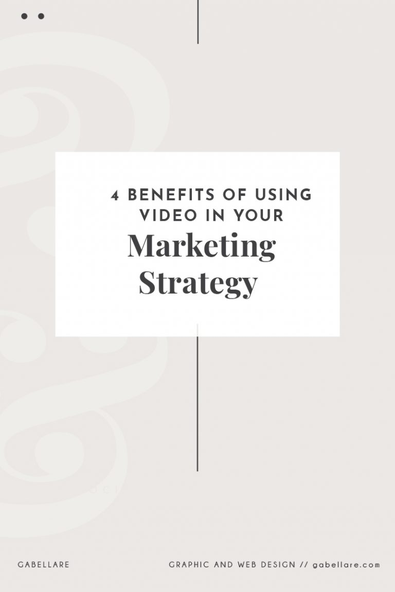 Read more about the article 4 Benefits of Using Video in your Marketing Strategy